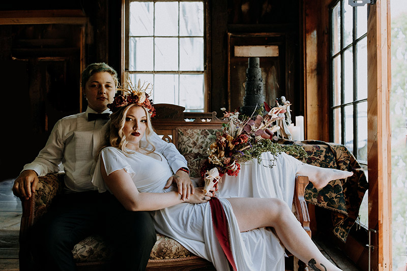 bride and groom at Trapshire Barn Wedding